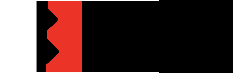 breathe marketing logo mobile red